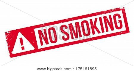 No Smoking rubber stamp. Grunge design with dust scratches. Effects can be easily removed for a clean, crisp look. Color is easily changed.