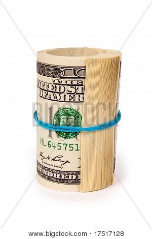 One roll of dollars