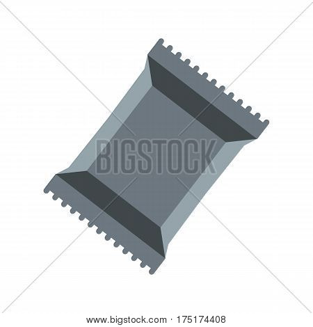 Napkins pack icon in flat style isolated on white background vector illustration