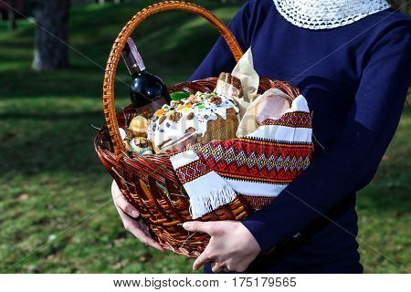 Easter, holiday, pastry, cake, delicious, baked, tradition, orthodoxy, spring, birth, family,