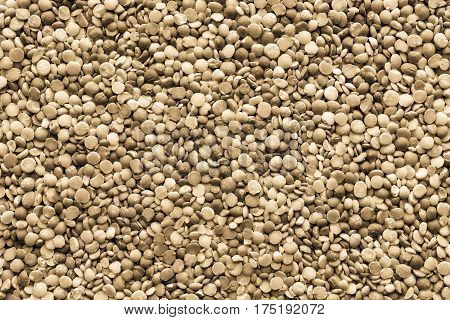 background and texture of dried shredded peas