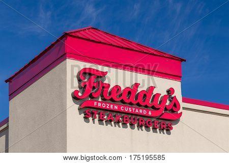 Freddy's Frozen Custard & Steakburgers Exterior And Logo