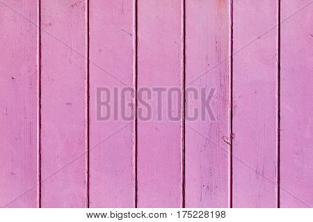 Light violet painted wooden wall useful as background