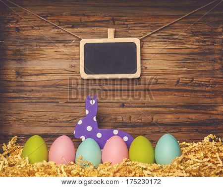 easter bunny background for eastertime