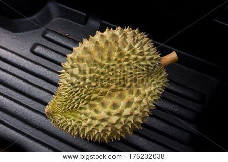 durian from thailand famous fruit king of fruitvery smelly and delicious