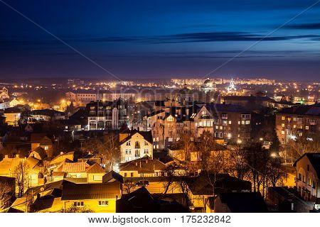 View On The Roofs Of Bila Tserkva