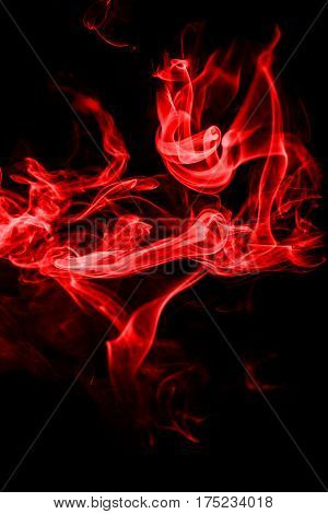 abstract background,  , colourful smoke, blaze, on the black