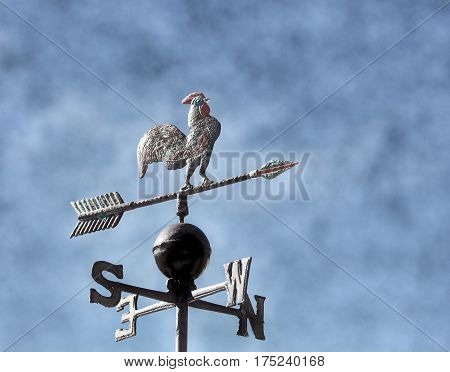 Vane To Mark The Wind With The Arrows Of The Cardinal Points