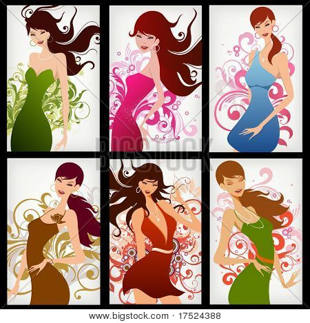 fashion girls poster