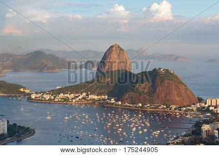 Mountain Sugarloaf, Rio De Janeiro, Brazil