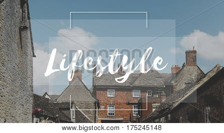 City Life Phrases Lifestyle Word