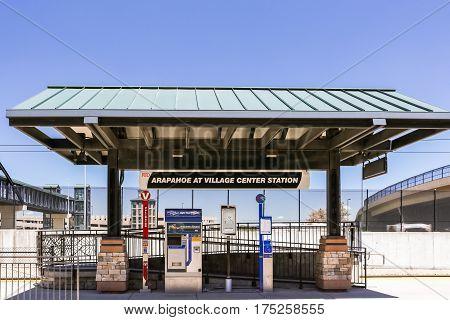 Light Rail Station