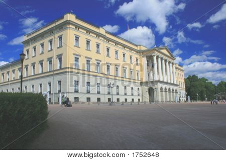 Königspalast-Oslo