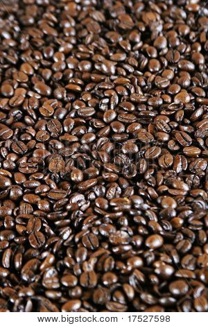 Coffee espresso bean detail background image poster