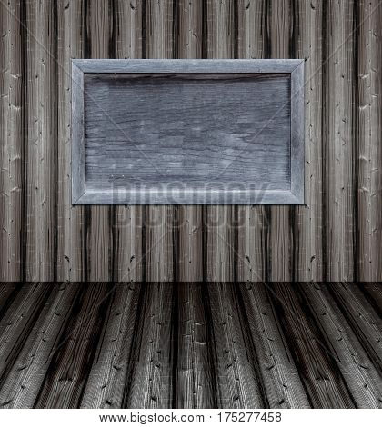 wood background and wallpaper texture with frame