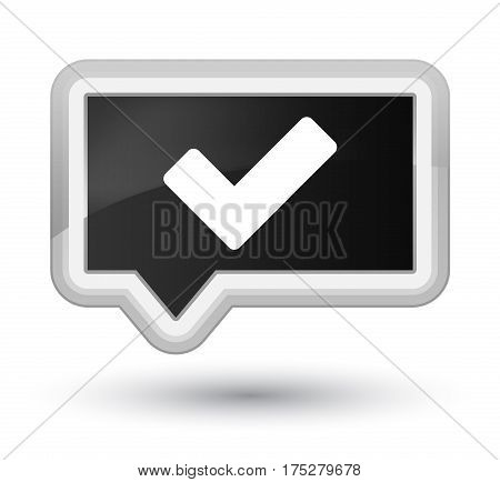 Validate Icon Prime Black Banner Button