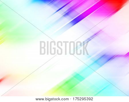Colorful smooth lines for abstract technology background