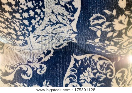 Persian carpet surface navy , surface, tapestry, textile