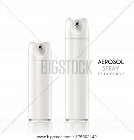 Aerosol Spray Package