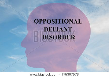 Oppositional Defiant Disorder - Mental Concept