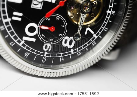 Mechanical Men Wrist Watch Fragment