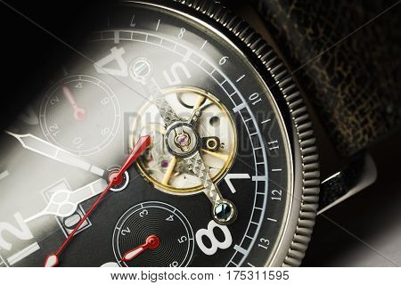 Mechanical Luxury Men Wrist Watch
