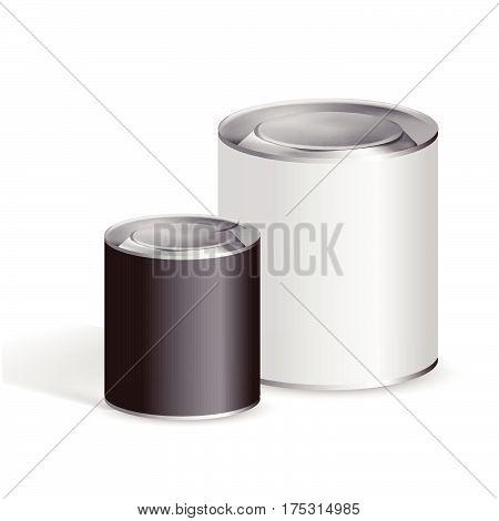 Blank Tin Cans