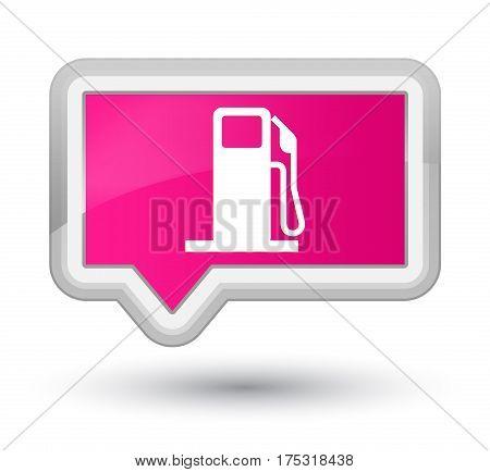Fuel Dispenser Icon Prime Pink Banner Button