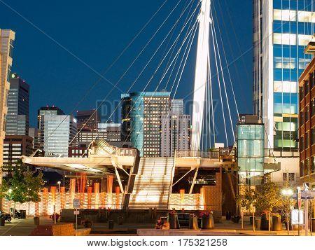 Denver Millennium Bridge