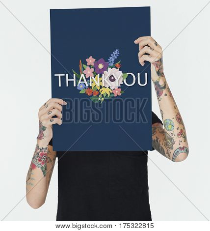 Thank You Appreciation Happy Flowers