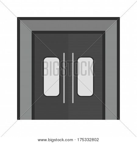 Entrance, town, community icon vector image. Can also be used for town. Suitable for mobile apps, web apps and print media.