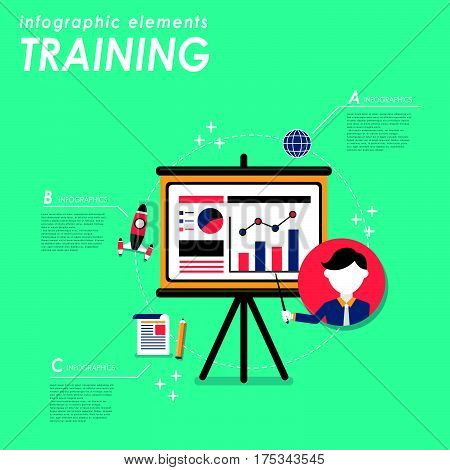 Business Training Concept