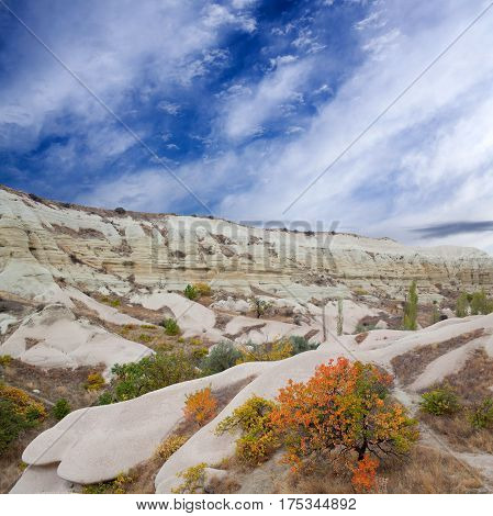 Autumn in White Valley, Cappadocia, Central Anatolia, Turkey