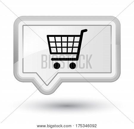 Ecommerce Icon Prime White Banner Button