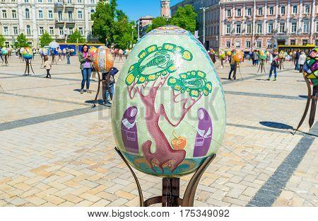 The Art On Eggs