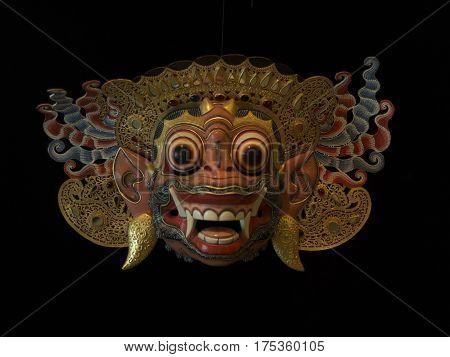 mask of King Sugriwa, monkey king of Kiskenda