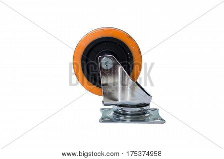 The Silent wheel cart on isolate background