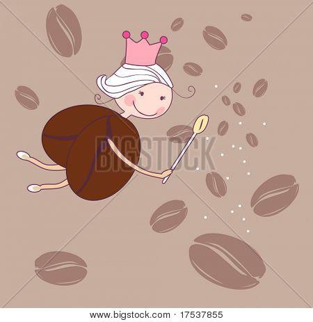 kleine Kaffee-Fee