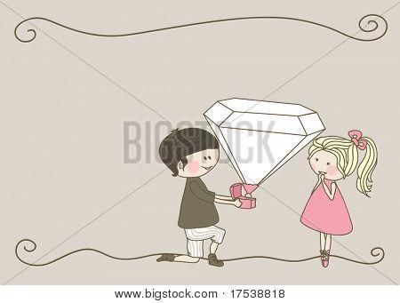 wedding set - engagement
