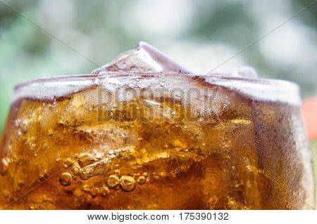 Texture Soft drinks Sweet thirst-quenching drinks popular.