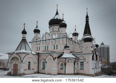 Pokrovsky Church Of The Convent Of The Patronage Of The Mother Of God In Kiev