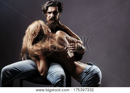 Sexy Man And Woman