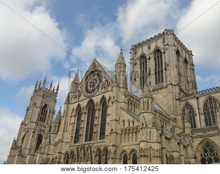 York Minster, Cathedral in York, Yorkshire, England