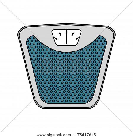 weight scale icon image vector illustration design