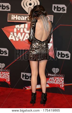 LOS ANGELES - MAR 5:  Laura Marano at the 2017 iHeart Music Awards at Forum on March 5, 2017 in Los Angeles, CA