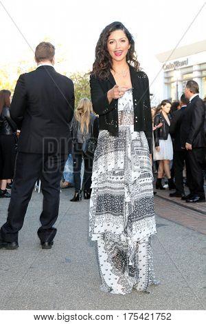 LOS ANGELES - FEB 4:  Camila Alves McConaughey at the Rebecca Minkoff's