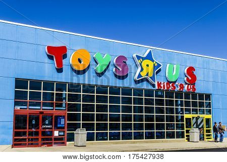 Muncie - Circa March 2017: Toys