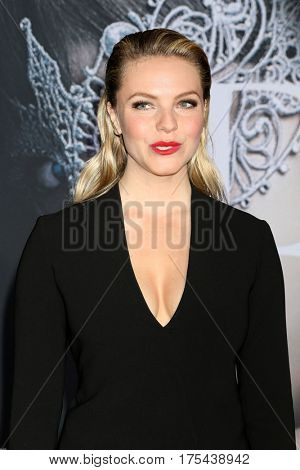 LOS ANGELES - FEB 2:  Eloise Mumford at the