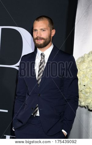 LOS ANGELES - FEB 2:  Jamie Dornan at the