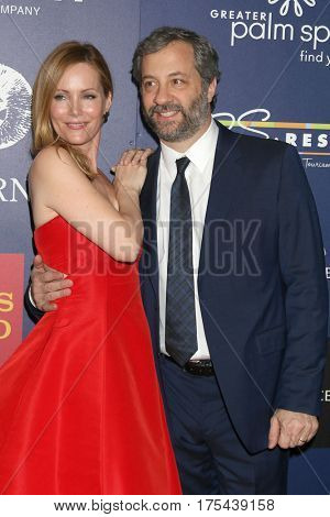 Palm Springs - JAN 15:  Leslie Mann, Judd Apatow at the Palm Springs International Film Festival -